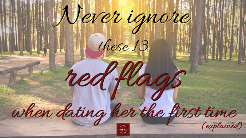 red flags when dating
